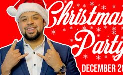 Compound Films Throws Christmas Party With Host Chingo Bling In Houston